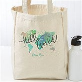 The Journey Personalized Petite Canvas Tote Bag - 19658