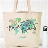 The Journey Personalized Canvas Tote - 19659