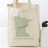 State Pride Personalized Petite Canvas Tote Bag - 19661