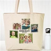 Five Photo Personalized Canvas Tote - 19665-5