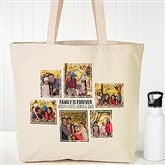 Six Photo Personalized Canvas Tote - 19665-6
