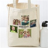 Five Photo Personalized Petite Canvas Tote Bag - 19666-5