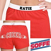 10 Sports Soffe® Athletic Shorts - Red - 1967R