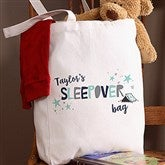 Boys Sleepover Personalized Petite Tote Bag - 19672