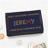 Stencil Name Personalized Wallet - 19679