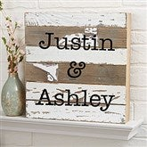 Write Your Own Expressions Personalized Reclaimed Wood Wall Art- 12x12 - 19696-12x12