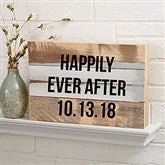 Write Your Own Expressions Personalized Reclaimed Wood Sign- 12x8 - 19696-12x8