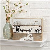 Write Your Own Expressions Personalized Reclaimed Wood Sign - 8x6 - 19696-8x6