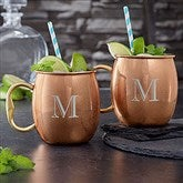 Top Shelf Personalized Moscow Mule Mugs - Set of 2 - 19777