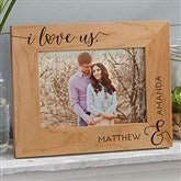 I Love Us Forever Personalized Picture Frame- 5 x 7 - 19783-M