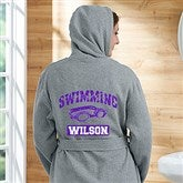 13 Sports Personalized Sweatshirt Robe - 19814