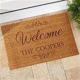 Welcome Personalized Coir Doormat- 18x27 - 19824