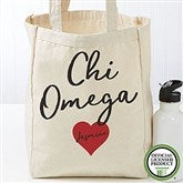 Chi Omega Personalized Petite Tote Bag - 19836