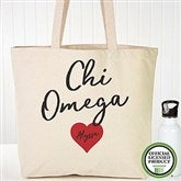 Chi Omega Personalized Tote Bag - 19837
