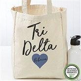 Delta Delta Delta Personalized Petite Tote Bag - 19840
