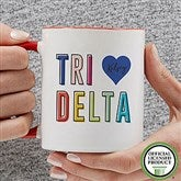 Delta Delta Delta Personalized Coffee Mug 11 oz.- Red - 19843-R