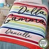 Delta Gamma Personalized 60x80 Fleece Blanket - 19847-L