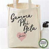 Gamma Phi Beta Personalized Petite Tote Bag - 19852