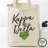 Kappa Delta Personalized Petite Tote Bag - 19860