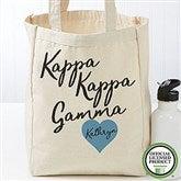 Kappa Kappa Gamma Personalized Petite Tote Bag - 19864