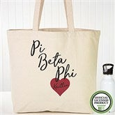 Pi Beta Phi Personalized Tote Bag - 19869