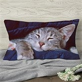 Pet Photo Memories Personalized Lumbar Throw Pillow - 19893-LB
