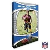 Detroit Lions Personalized NFL Photo Canvas Print- 12