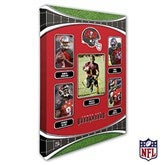 Tampa Bay Buccaneers Personalized NFL Trading Card Style Canvas Print - 12
