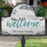 Cozy Home Personalized Magnetic Garden Sign - 20002
