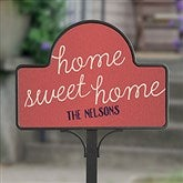 Front Door Greetings Personalized Magnetic Garden Sign - 20005