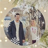 Snowflake Personalized Photo Premium Ornament - 20048