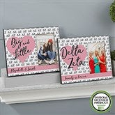 Delta Zeta Personalized Picture Frame - 20063
