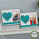 Zeta Tau Alpha Personalized Picture Frame - 20069