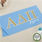 Alpha Delta Pi Personalized Beach Towel - 20071