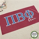 Pi Beta Phi Personalized Beach Towel - 20082