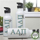 Alpha Delta Pi Personalized Water Bottle - 20089