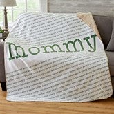 Our Special Lady Personalized 50x60 Sherpa Blanket - 20101-S
