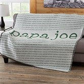 Our Special Guy Personalized Woven Throw - 20103-A