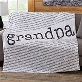Our Special Guy Personalized 50x60 Fleece Blanket - 20103-F