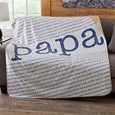 Our Special Guy Personalized 50x60 Sherpa Blanket - 20103-S