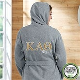 Kappa Alpha Theta Personalized Sweatshirt Robe - 20110