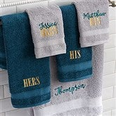 Wamsutta® Hygro® His or Hers Personalized Duet Fingertip Towel - 20121-FT