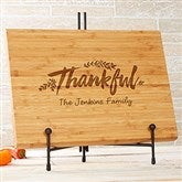 Cozy Home Personalized Bamboo Cutting Board - 10x14 - 20130