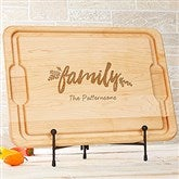 Cozy Home Personalized Maple Cutting Board- 12x17 - 20131