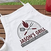 The Grill Personalized Apron - 20134