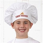The Pizza Maker Personalized Youth Chef Hat - 20139-YH