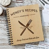 Farmhouse Kitchen Personalized Recipe Book - 20150