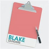 Bold Name Personalized Clipboard - 20200