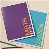 Bold Name Personalized Folders - Set of 2 - 20202