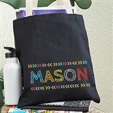 Stencil Name Personalized Tote Bag For Boys - 20272